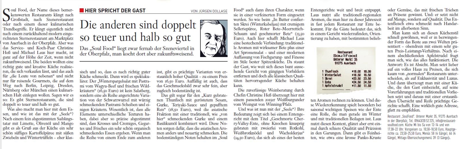 Bericht Jürgen Dollase Februar 2018